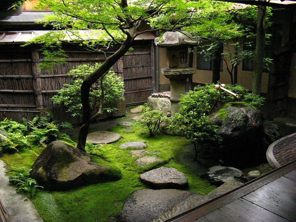 Trucos para decorar un jardín pequeño: Pequeño jardín zen
