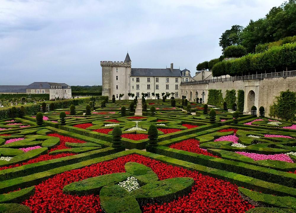 Jardines más bonitos del mundo: Jardines del Chateau de Villandry (Francia)