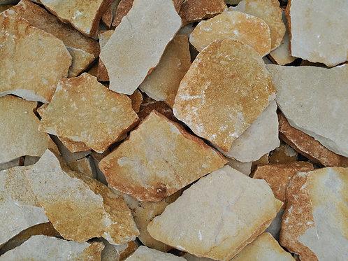 Piedra irregular arena