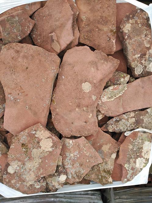 Piedra irregular musgo zaragoza