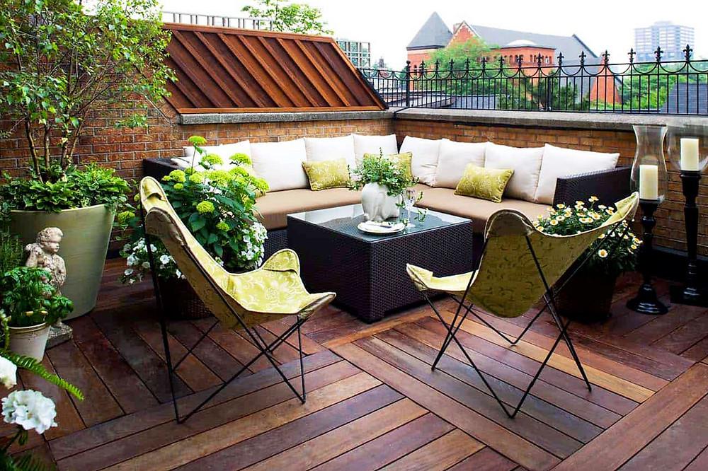 Chill out en el jardín: urbano