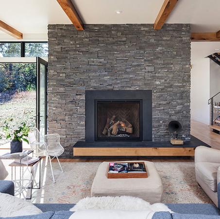 ¿Qué piedras son aptas para revestir una chimenea?