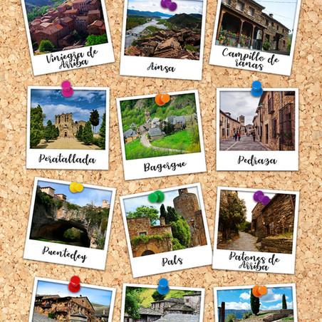 Lista de los 20 pueblos con casas de piedra