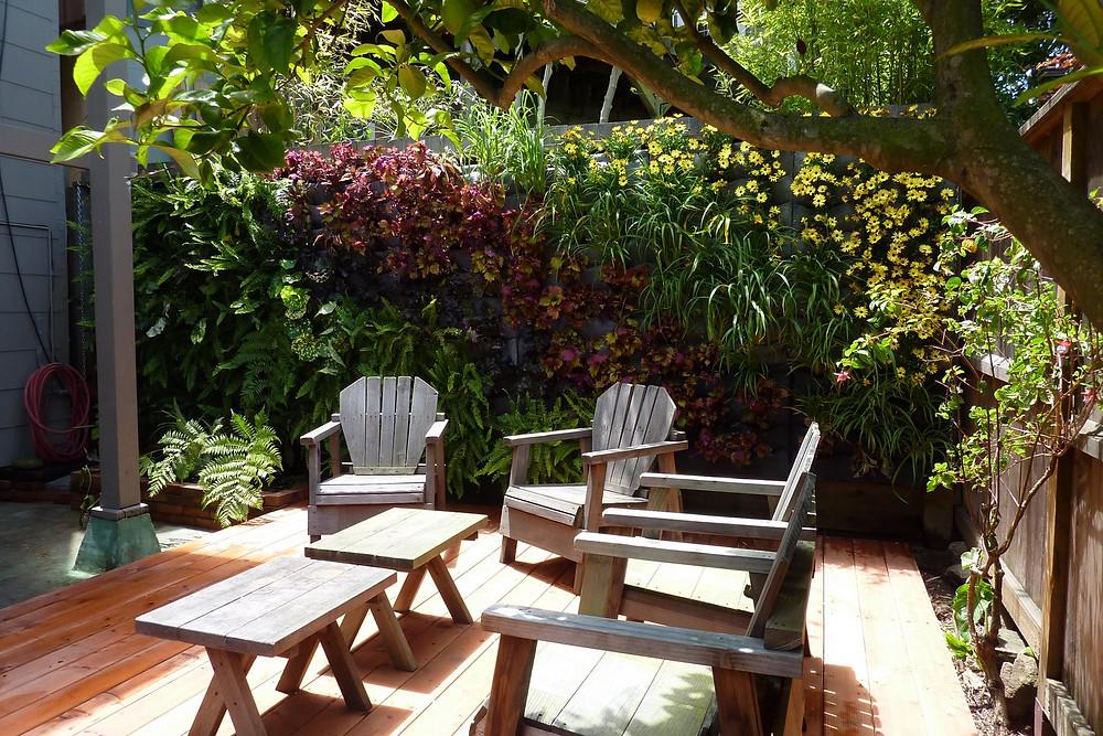cerramientos de jardín: jardines verticales