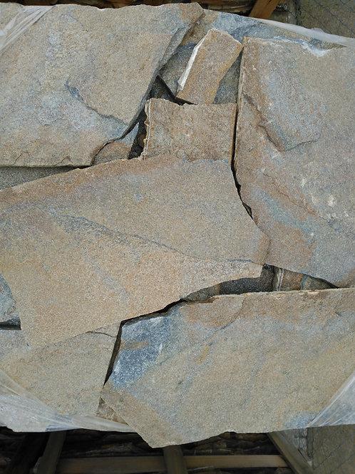 Piedra irregular marrón orient