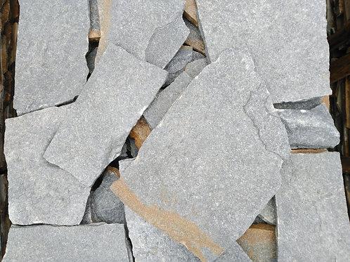 Piedra irregular gris orient