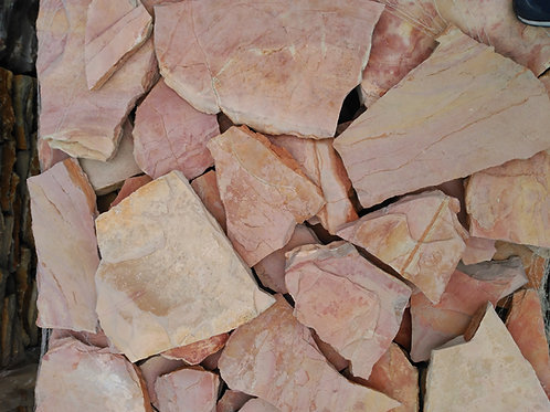Piedra irregular rosada