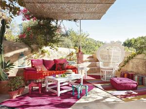 Chill out en el jardín: explosión de color