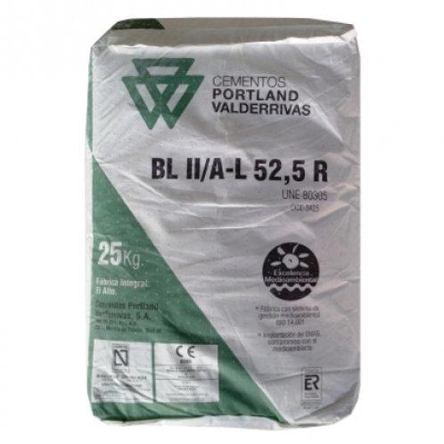 Cemento blanco Portland Valderrivas 42.5
