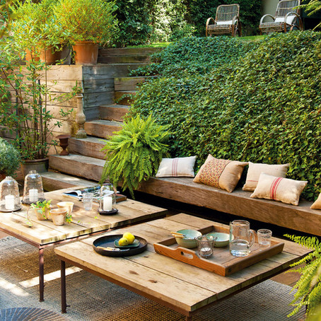 Alarga el verano y monta un chill out en el jardín
