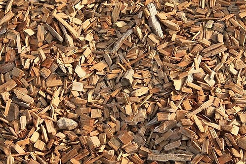 Astillas de madera de pino