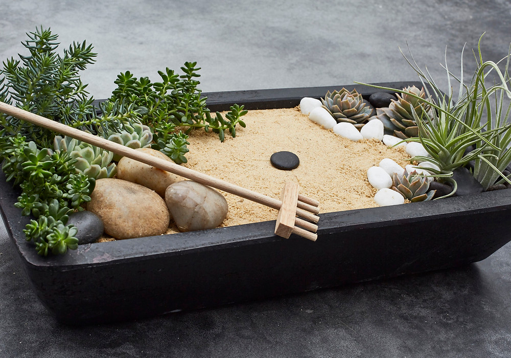 Jardines zen en miniatura: los más sencillos