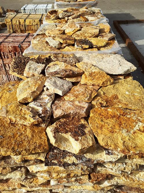 Piedra irregular travertino italiano