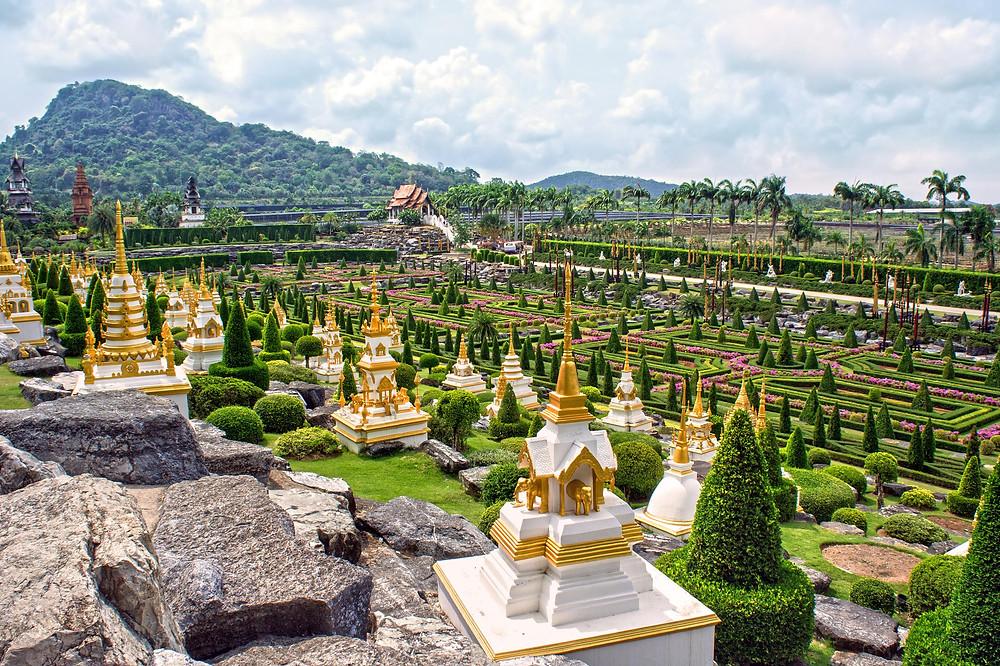 Jardines más bonitos del mundo: Jardín de Nong Nooch (Tailandia)