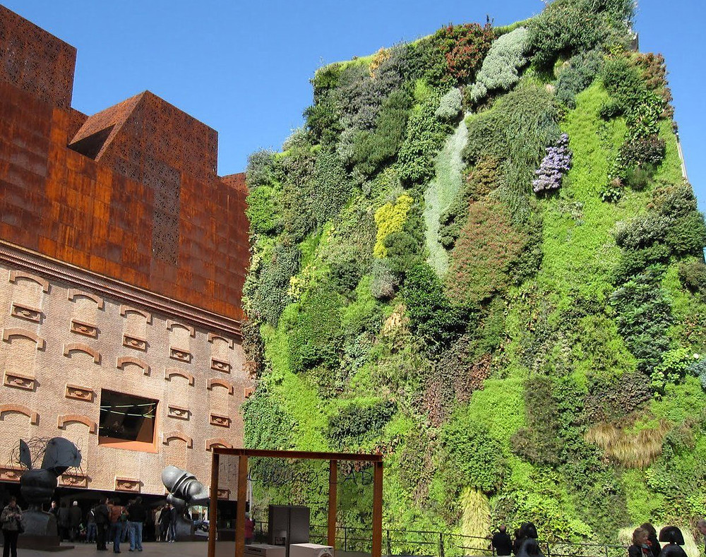 Jardín vertical Madrid Living Wall (España)
