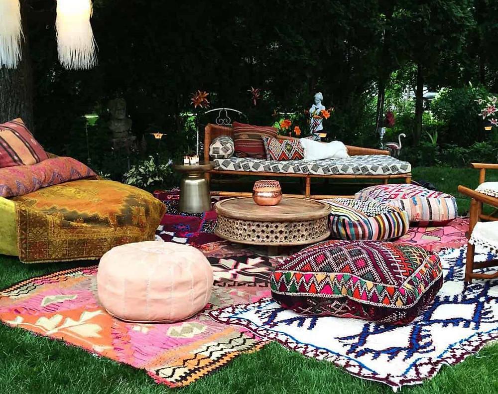 Chill out en el jardín: al estilo árabe