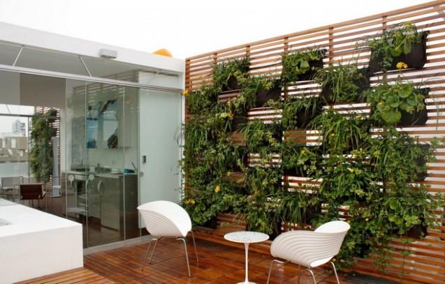 Cómo preservar la privacidad en tu terraza: jardines verticales