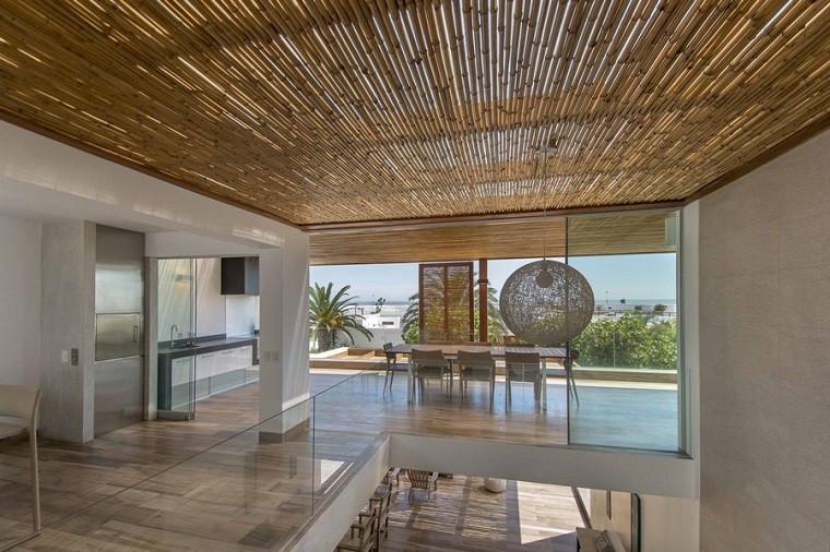 Cómo preservar la privacidad en tu terraza: bambú
