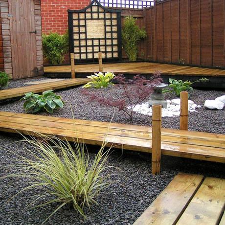 ¿Cómo colocar piedras en el jardín?