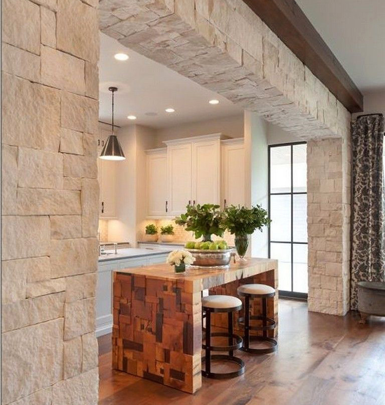 Decoración de interiores - Revestimientos en piedra
