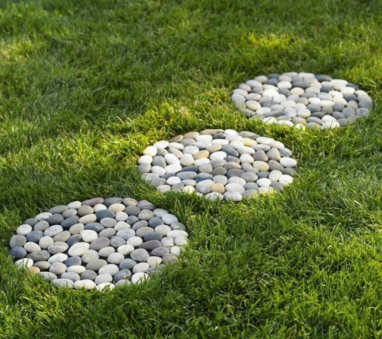 cmo hacer un camino de piedra en el jardn depiedra - Piedras Jardin