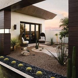 revista ideas decoracion de jardines piedra decorativa