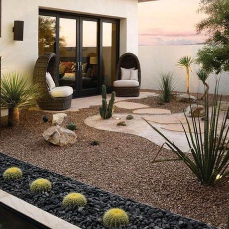 Cómo decorar un jardín con piedras: 10 ideas infalibles