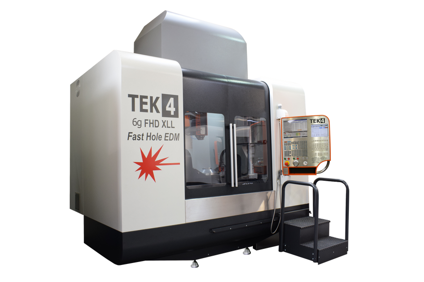 TEK4 6g EDM drilling XLL Machine