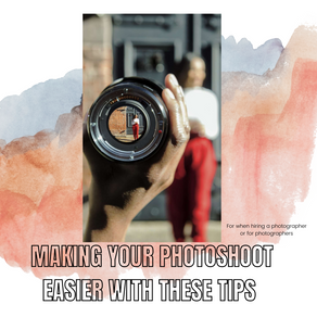 Making your photoshoots easier with these tips!