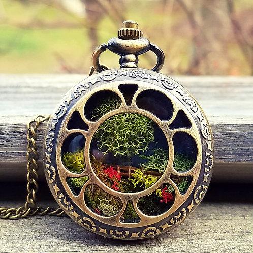Pocket watch Terrarium