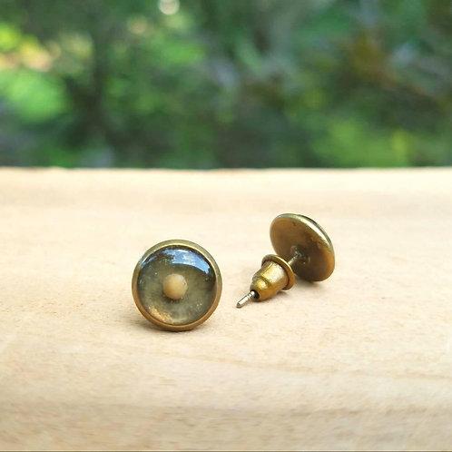 Mustard seed earrings