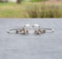Boomdyada mustard seed earrings