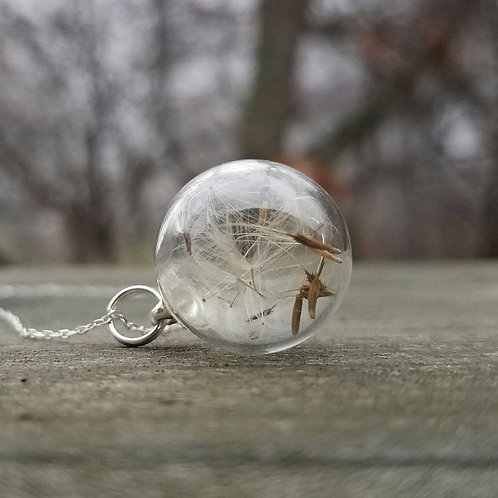 Dandelion seed Wish CHARM ONLY