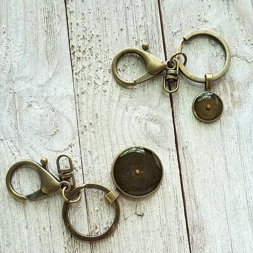 Mustard seed keychains