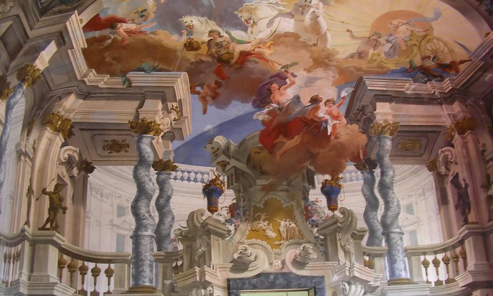 I fratelli Galliari, pittori illusionisti e maestri di prospettive