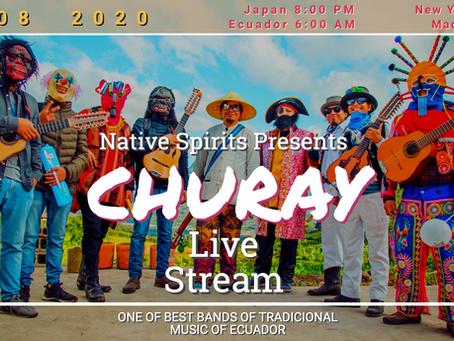CHURAY LIVE STREAMING NOV 8 2020