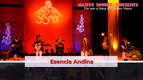 NATIVE SPIRITS PRESENTS ESENCIA ANDINA (