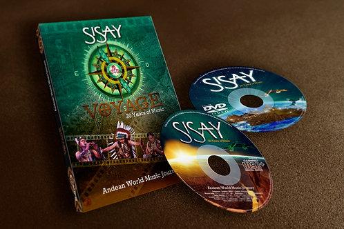 Sisay Voyage DVD/CD Set