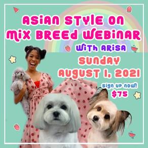 Mix Breed Asian Style Webinar