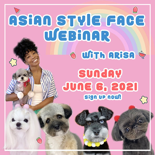 VOL 1 - All About The Face Webinar Recording by Arisa