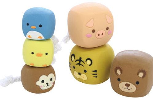 Animal Friends Cube Dog Toy