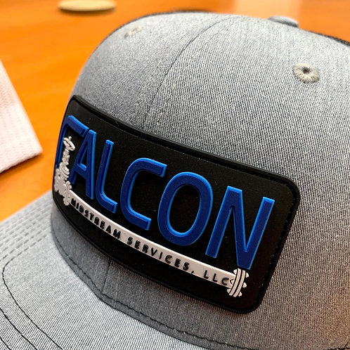 Falcon Richardson 112 Snapback Cap with PVC Patch