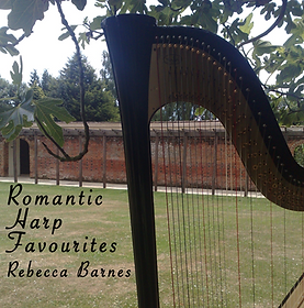 Romantic Harp Favourites CD, Rebecca Barnes