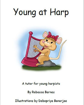 Young At Harp Tutor Book, Rebecca Barnes