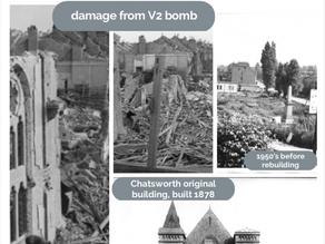 V2 bomb 75th anniversary