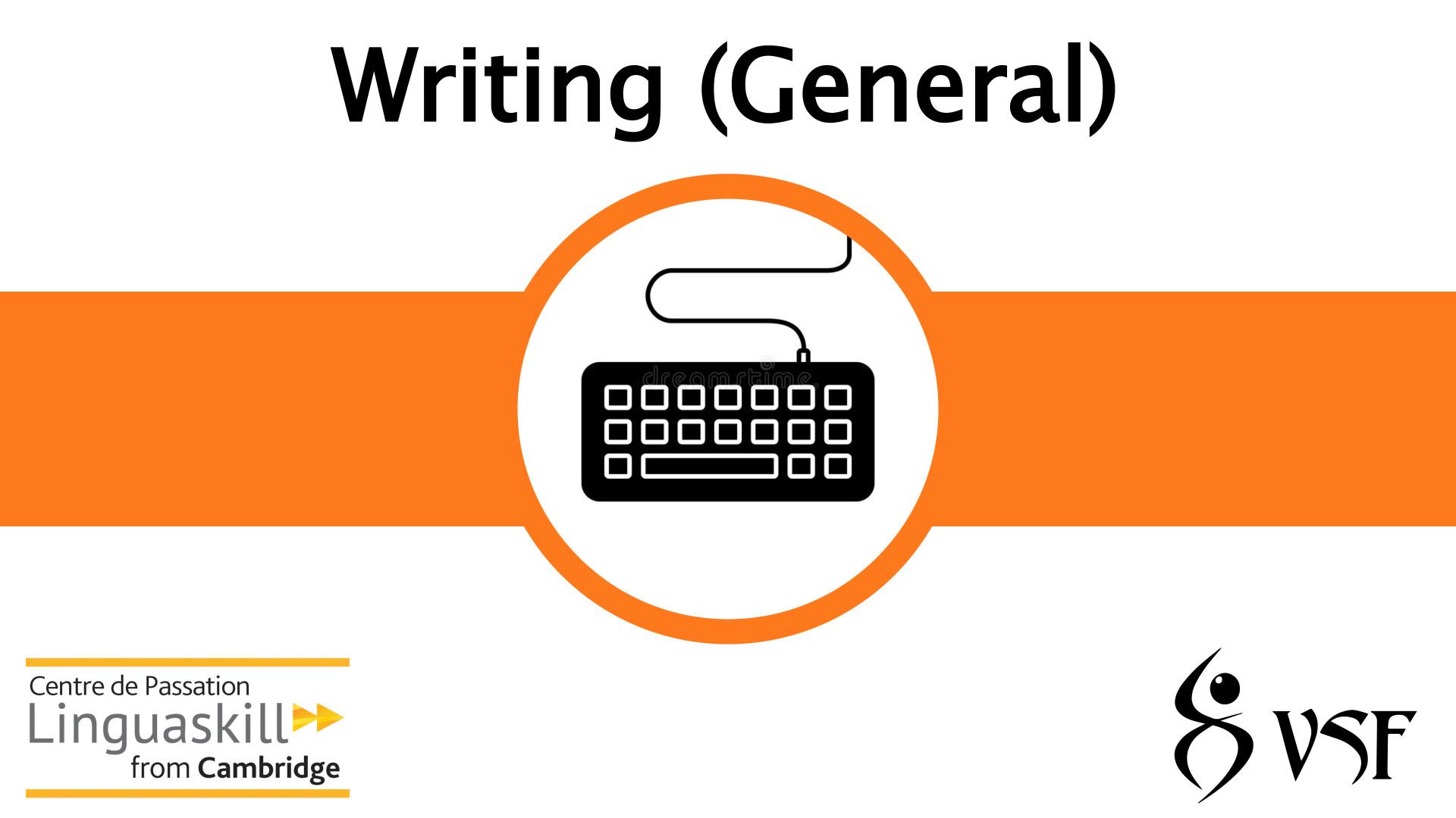 V1- Writing (General)