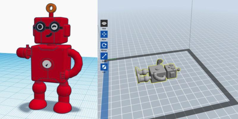 3D Designed Robot