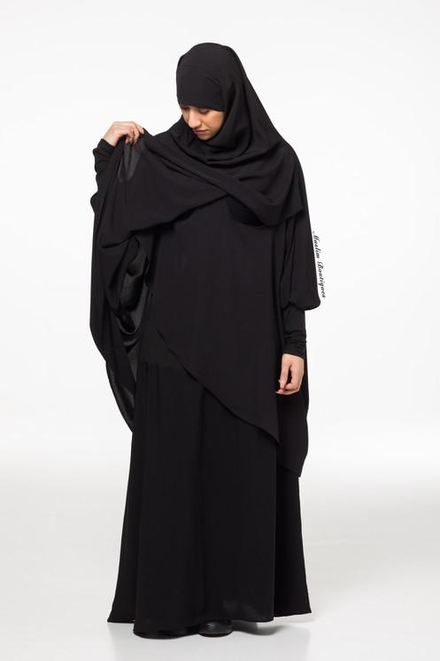 6ee144228ab75 Maternity Jilbab Nursing Jilbab Modest clothing for nursing mothers