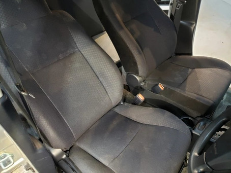 カビの車内クリーニング・除菌脱臭