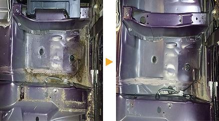車内クリーニング 液体こぼし.JPG